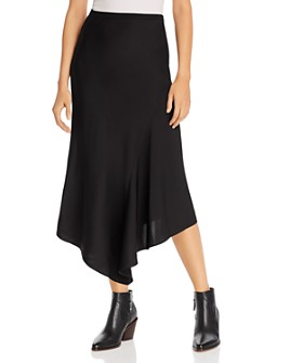 Anine Bing - Bailey Asymmetric Silk Skirt