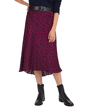 Ba&sh Skirts TEDDY LEOPARD PRINT SLIP SKIRT
