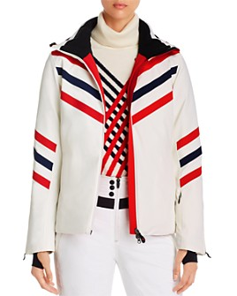 Perfect Moment - Chevron Striped Ski Jacket