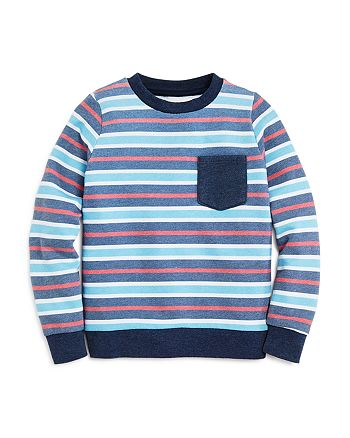 SOL ANGELES - Unisex Striped Sweatshirt - Little Kid, Big Kid
