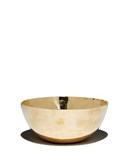 Rose & Fitzgerald - Large Pure Brass Bowl