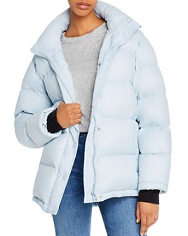 AQUA - Short Hooded Puffer Coat - 100% Exclusive
