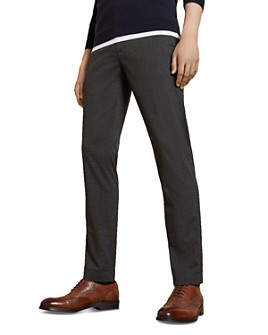Ted Baker - Sybili Checked Slim Fit Trousers