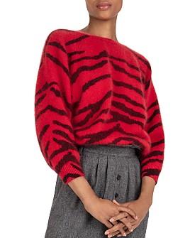 ba&sh - Zaya Zebra-Stripe Sweater
