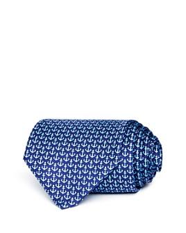 Salvatore Ferragamo - Anchor Silk Classic Tie