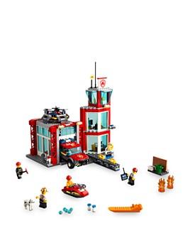 LEGO - City Fire Station Set - Ages 5+