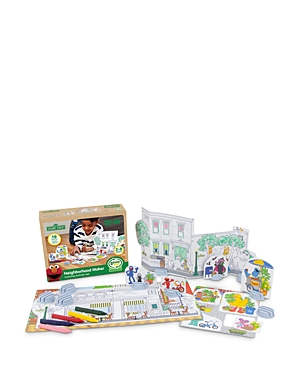 Green Toys Sesame Street Neighborhood Maker Coloring Activity Set