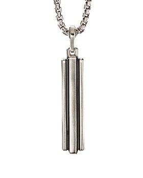 David Yurman - Sterling Silver Deco Ingot Pendant