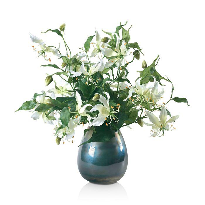 Diane James Home - Gloriosa Lily Faux-Floral Arrangement