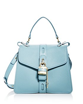 Chloé - Aby Medium Leather Satchel