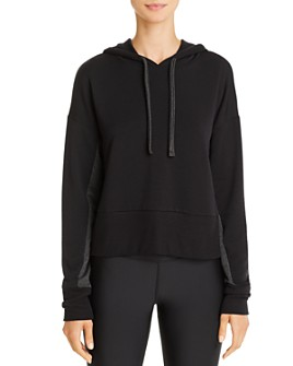Beyond Yoga - Color-Block Sleeve Hooded Sweatshirt