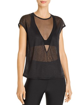 Alo Yoga - Descent Sheer Top