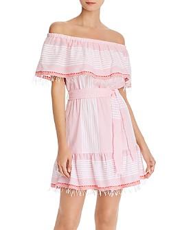 Lemlem - Rekik Off-the-Shoulder Mini Dress