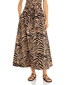 Gary Bigeni - Dominic Zebra-Printed Skirt