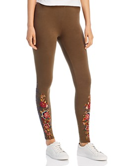 Johnny Was - Zaret Embroidered Leggings