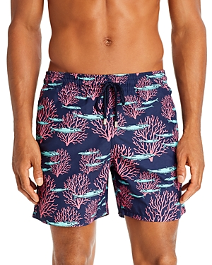 Vilebrequin Pants CORAL & FISHES SWIM TRUNKS