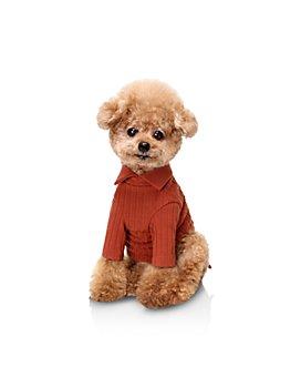 Huts and Bay - Ribbed-Knit Dog Shirt