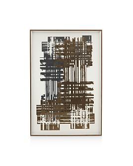 Bassett Mirror - Multi Foil Matrix II Wall Art