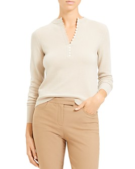 Theory - Cashmere Henley Sweater