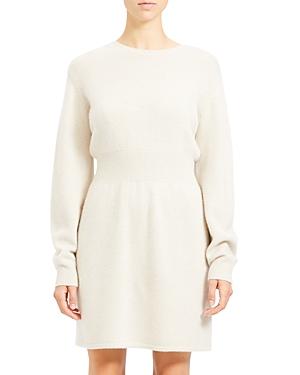 Theory Dresses WOOL & CASHMERE SWEATER DRESS