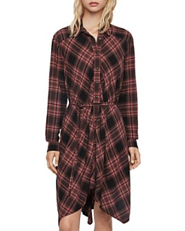 ALLSAINTS - Tala Plaid Shirt Dress