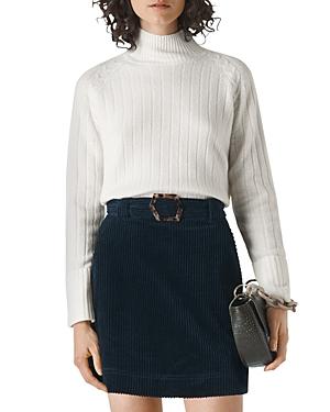Whistles Funnel Neck Wool Sweater-Women