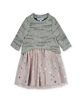 Pippa & Julie - Girls' Crewneck Sweater & Star Print Dress Set - Little Kid