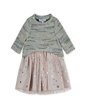 Pippa & Julie Girls' Crewneck Sweater & Star Print Dress Set - Little Kid