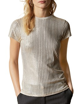 Ted Baker - Catrino Metallic Knit Tee
