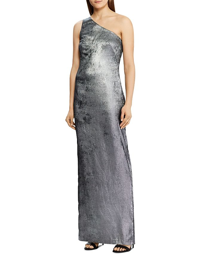 Ralph Lauren - Satin One-Shoulder Gown