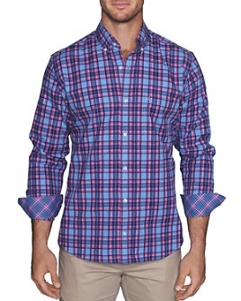 TailorByrd - Bart Plaid Classic Fit Button-Down Shirt