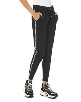 MICHAEL Michael Kors - Logo-Letter Jogger Pants
