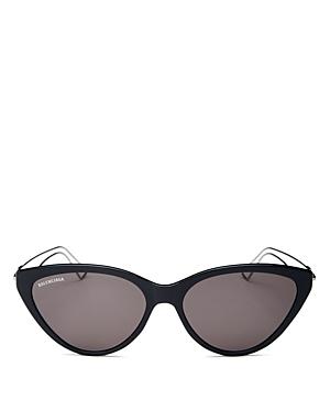 Balenciaga Women\\\'s Cat Eye Sunglasses, 56mm-Jewelry & Accessories