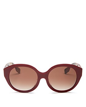 Burberry - Unisex Round Sunglasses, 55mm
