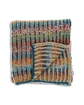 Fraas - Spacedye Ribbed-Knit Throw
