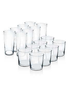 Luminarc - Rika Tumbler Glassware, Set of 16