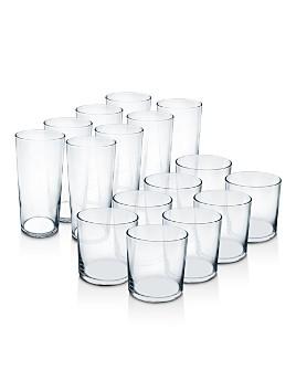 Luminarc - Rika Tumbler Glassware, Set of 16