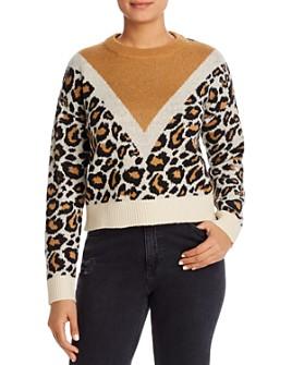 Vero Moda - Leopard-Pattern Sweater
