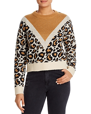 Vero Moda Leopard Pattern Sweater