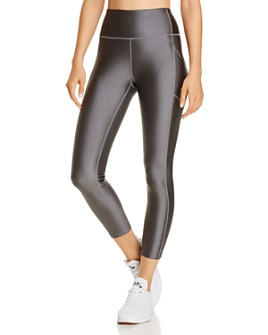 Calvin Klein - Metallic Cropped Leggings