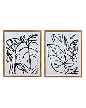 Bassett Mirror - Palm Leaves Wall Art Collection