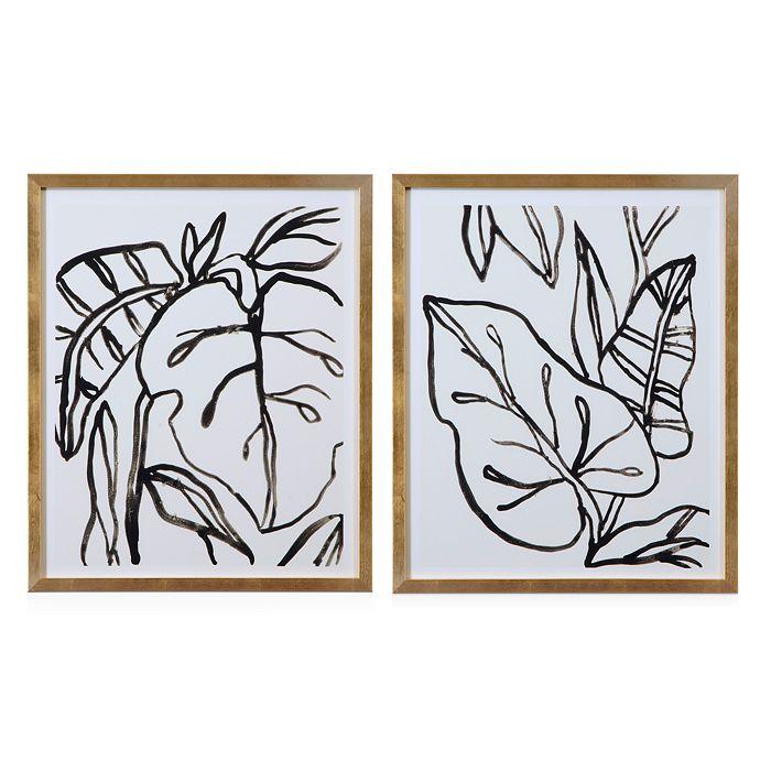 Bassett Mirror - Palm Leaves I Wall Art