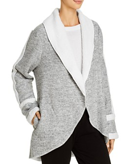 Splendid - Sherpa-Lined Sleep Cardigan
