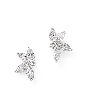 Bloomingdale's Diamond Stud Earrings in 18K White Gold, 0.65 ct. t.w. - 100% Exclusive
