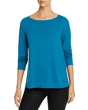 Eileen Fisher Tops ORGANIC COTTON HIGH/LOW TOP