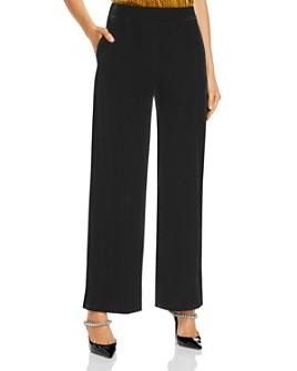 Donna Karan - Velvet Wide-Leg Pants
