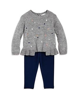 Splendid - Girls' Embroidered Star Sweater & Leggings Set - Baby