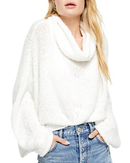 Free People - BFF Cowl-Neck Sweater