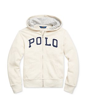 Ralph Lauren - Boys' Logo Zip Hoodie - Little Kid, Big Kid
