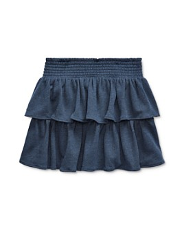Ralph Lauren - Girls' Tiered Terry Skirt, Big Kid - 100% Exclusive